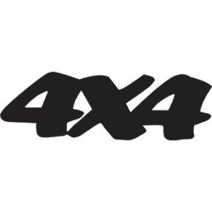 4x4 Decal Sticker - 4x4-D