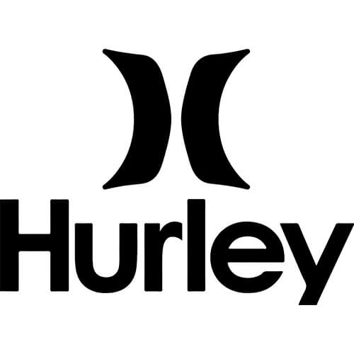 Hurley Apparel Decal Sticker